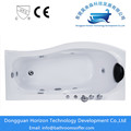 Massage shower freestanding soaking tub for two