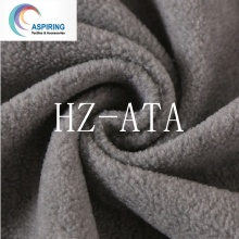 Heather Grey Polar Fleece 75D/144f Solid Dyed