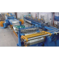Hydraulic steel coil slitting machine line