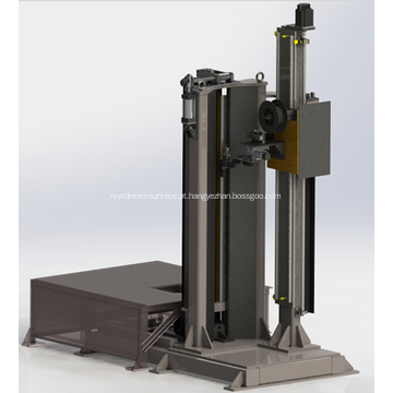 Equipamento de soldagem automática longitudinal longitudinal