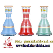 Egpyt Colored Glass Medium Hookah Bottle Wholesale