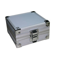 NOUVEAU Aluminium Silver Tattoo pistolet rotatif Machine grip tube tip Box Case Kit Supply
