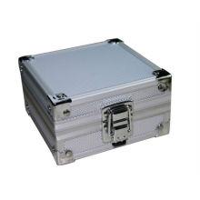 NOVO alumínio prata tatuagem pistola rotativa máquina aderência tubo ponta caixa caso kit fornecimento