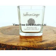 Уникальная ароматизированная соя для свечей Jar Saffron Ginger