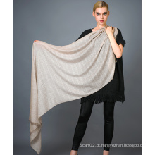 Alashan Worsted Cashmere Scarf, Soft / Luxurious Texture