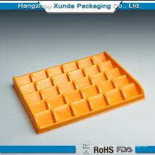 Embalaje de plástico para el chocolate