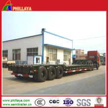Kundengebundener niedriger Bett-Auflieger für 100-150 Tonnen Transport