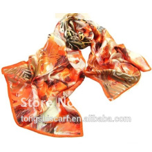 digital printing silk scarf party dresses for fat girlsTongshi supplier alibaba china