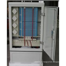 Armario de conexión de fibra cruzada-192 Cores