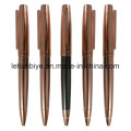 Metal Copper Pen Rose Gold Ball Pen (LT-D007)