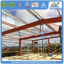 Bâtiment d'entrepôt modulaire certifié de style américain préfabriqué
