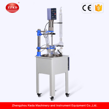 Mini Stainless Steel Pyrolysis Glass Reactor Vessel