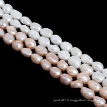 Nature aroque Perles de perles d'eau douce et de culture