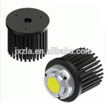 2w 3w 5w 8w 10w круглый алюминиевый светодиодный радиатор для светодиодов