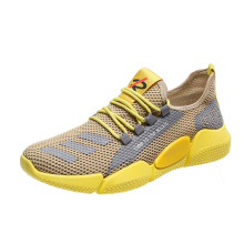 New product summer comfortable men running sport casual shoes women walking style  white breathable sneakers