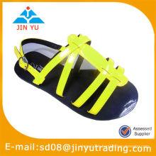 Sandales plates à vente chaude