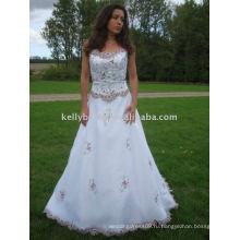 Последнее свадебное платье с кружевом вечернее платье тип и тканые техника узор макси пром платье паффи цветочница платья