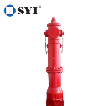 DN100 Ductile Cast Iron Outdoor Fire Hydrant Outdoor landing fire hydrant