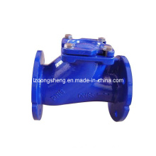 Ductiel Iron Flange Ends Ball Swing Check Valve Pn10, Pn16