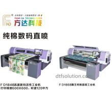Impresora de tinta del pigmento Fd-1688 con la correa para la impresión del algodón