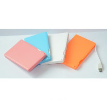 2014 2200mah newest power bank credit card size micro usb charger