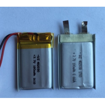 180mAh Lipo Batterie für tragbaren Bluetooth Lautsprecher (LP2X3T4)