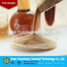 Fournit un superplastifiant à base de naphtalène de haute qualité