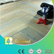 Commercial 12,3 mm geprägte Eiche gewachst eingefasst Lamiente Floor