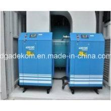 Compresor de tornillo con contenedor Sistema de aire comprimido con Fliters (KCCASS-22 * 2)