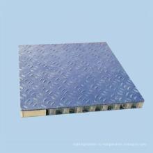 Нескользящие алюминиевые сотовые панели для полов