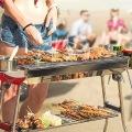 304 grillage soudé de barbecue d'acier inoxydable