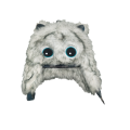kids snow faux fur trapper hats