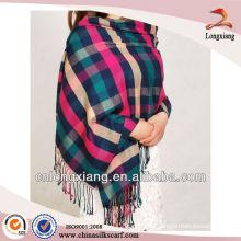 Pashminas baratos de la tela escocesa de las mujeres