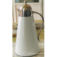 Vidrio revestimiento acero inoxidable cafetera Shell Sgp-1000k-D