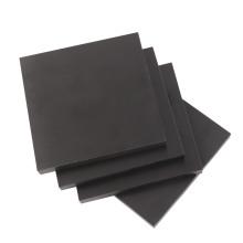 Folha laminada de papel fenólico (cor preta)