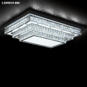 illuminazione di cristallo decorativa a soffitto a led