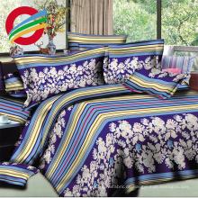 Preiswerte Qualität 100% Polyester 3D Blume druckte Gewebe für die Herstellung des Bettlakens