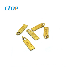 Professional guangzhou custom zipper heads zip puller bag zipper head slider puller