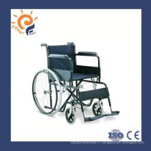 Chaise roulante manuel en acier économique