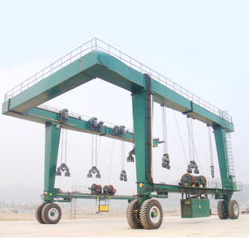 Straddle Carrier/Yacht Crane