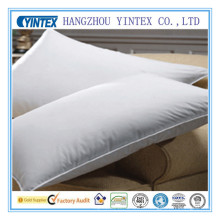 2014 White Duck Feather Double Stitch Cheap Pillows with Piping