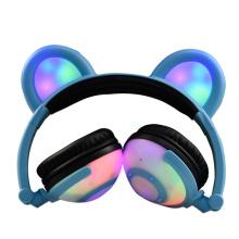El mejor gato del auricular del oído del oso del regalo para la promoción