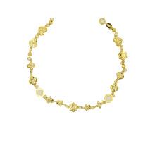 Bracelet 22 K couleur plaqué or