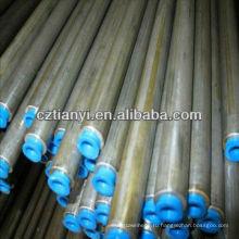 SCH40 ASTM A53B бесшовная / сварная стальная труба