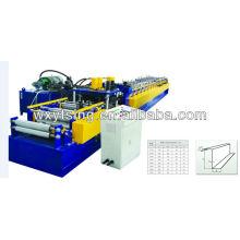 YTSING-YD-4010 Passé CE / ISO / SGS / ISO rouleau Z rouleau formant la machine, Metal Z Purlin fabrication de machines
