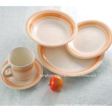 Projete sua Própria Louça de Porcelana (conjunto)