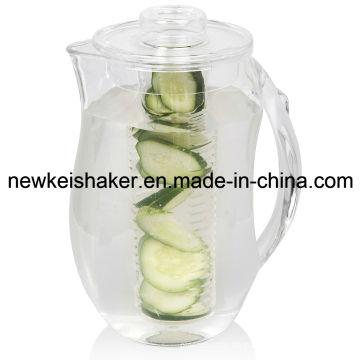 Heißer Verkaufs-Plastikmilchkrug mit Infuser