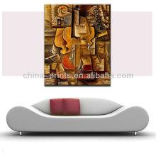Pintura acrílica moderna moderna da arte abstracta da lona para a venda