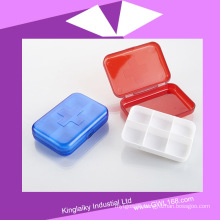 Plastic Medical Pill Box Kit with Logo for Promotion (BH-036)
