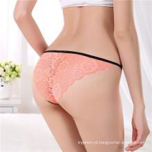 Mais recente Design Anti-Bacterial Jockey Sexy Transparente Ladies Underwear Panties Female Thong Bikini